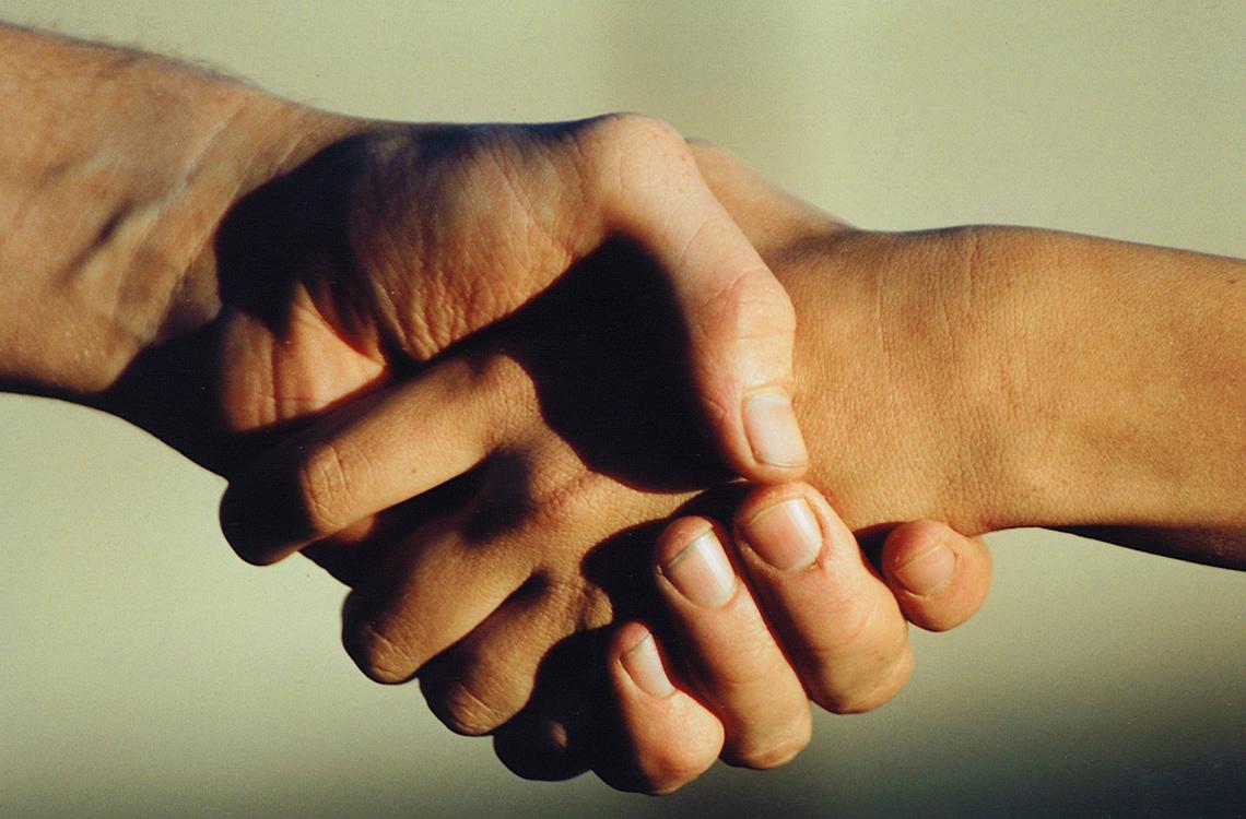 Hand Shake 1241578