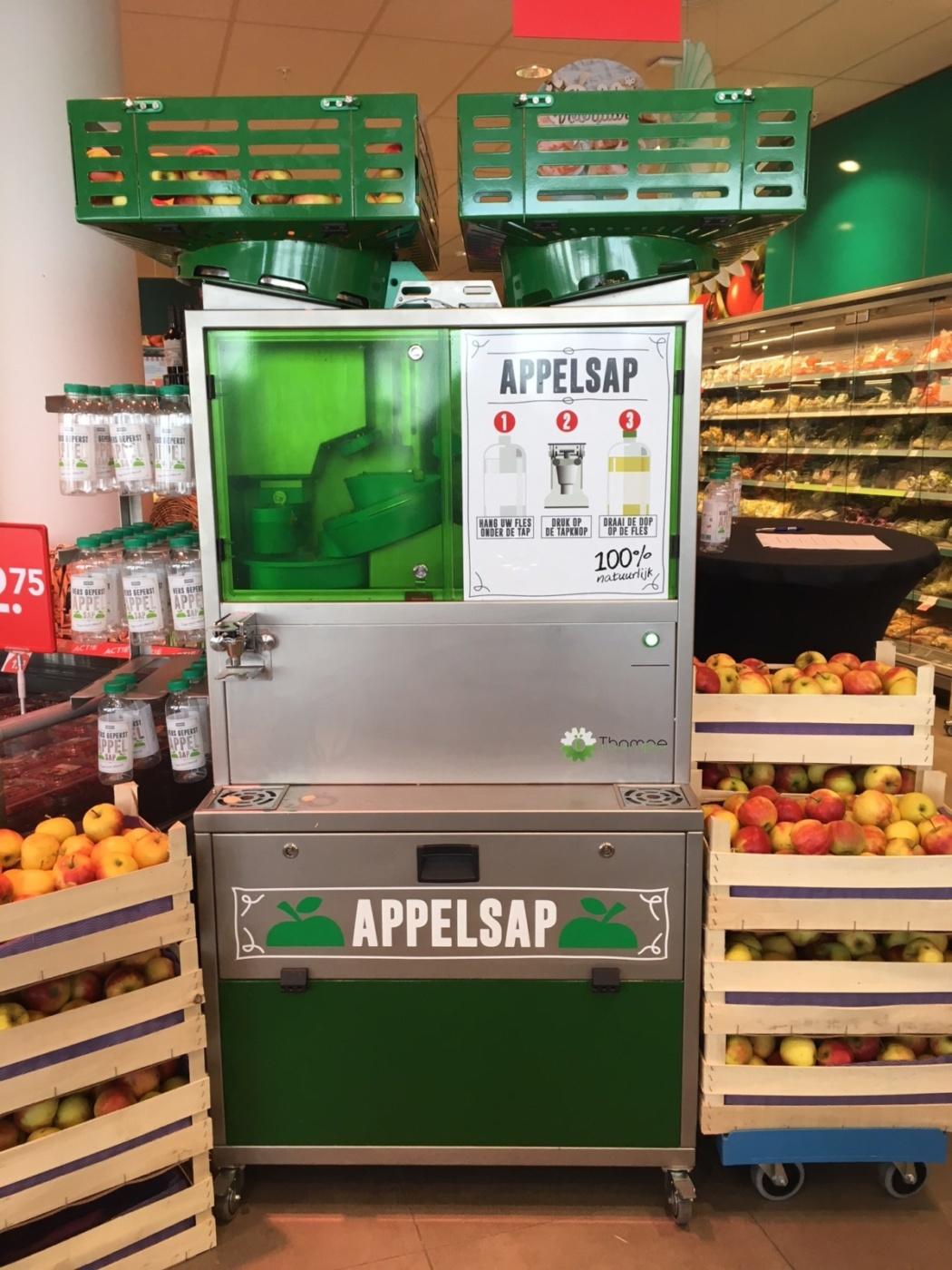 Świeży Sok Jabłkowy W Supermarketach
