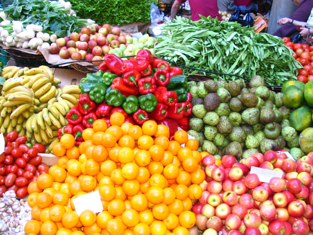 Food Market In Madeira 1329185