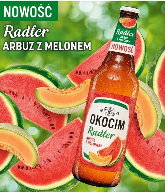 Nowe Połączenie Arbuza Z Melonem W Radlerze Okocim