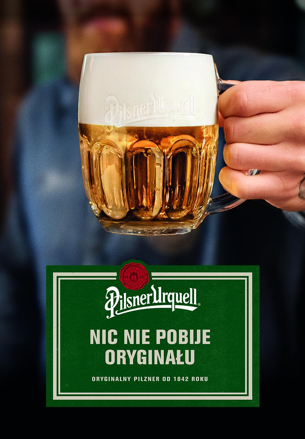 Marka Piwna Pilsner Urquell Rozpoczęła Kampanię Reklamową