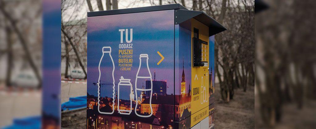 Kolejne Recyklomaty Coca-Cola Pojawiły Się W Warszawie