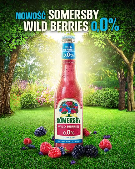 Somersby WildBerries 0,0%