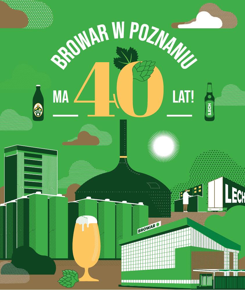 Lech Browary Wielkopolski Z Okrągłym Jubileuszem