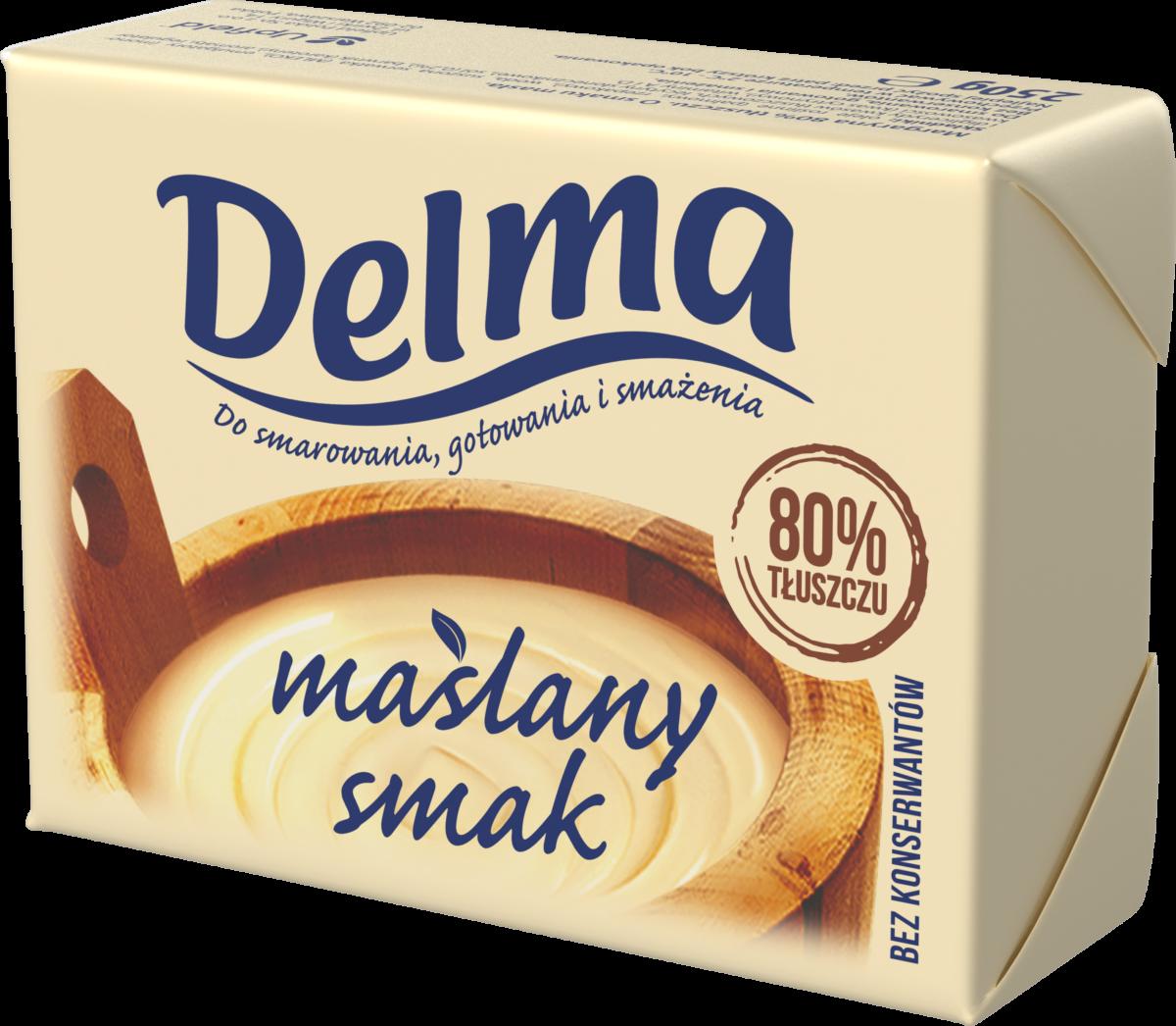 Nowa Delma 80% – Maślany Smak