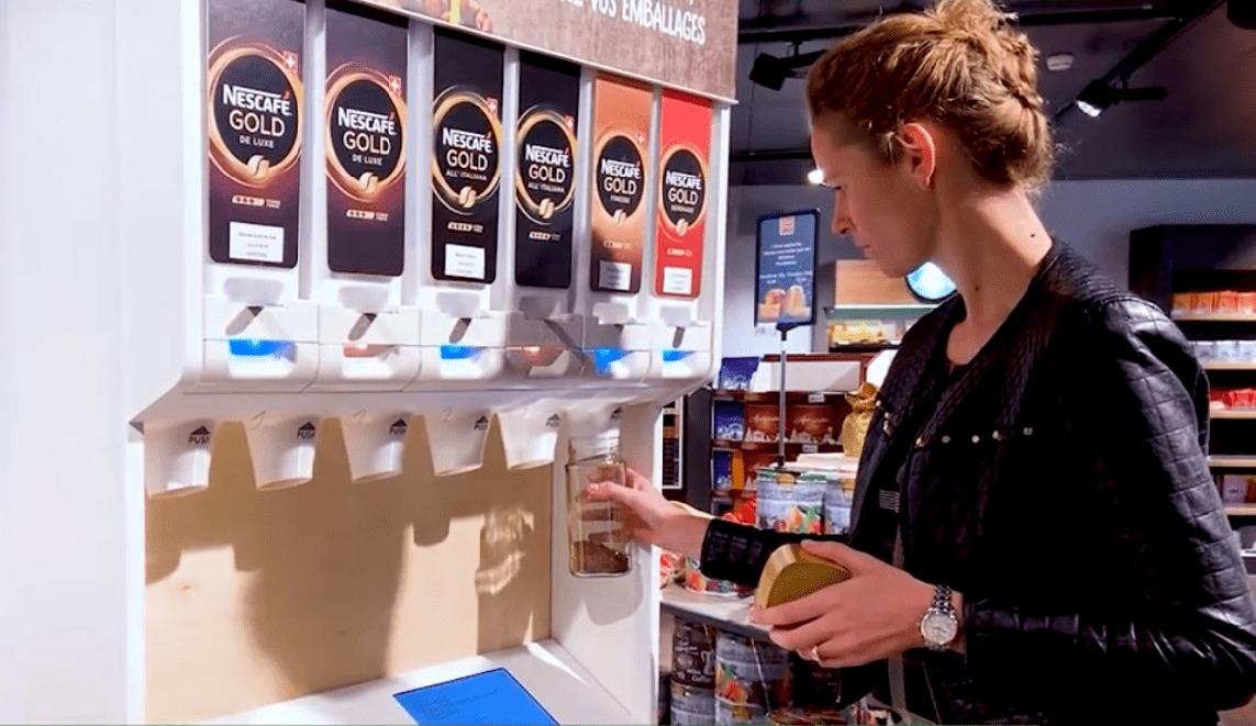 Nestlé Wprowadza Dystrybutory Do Napełniania Opakowań Wielokrotnego Użytku