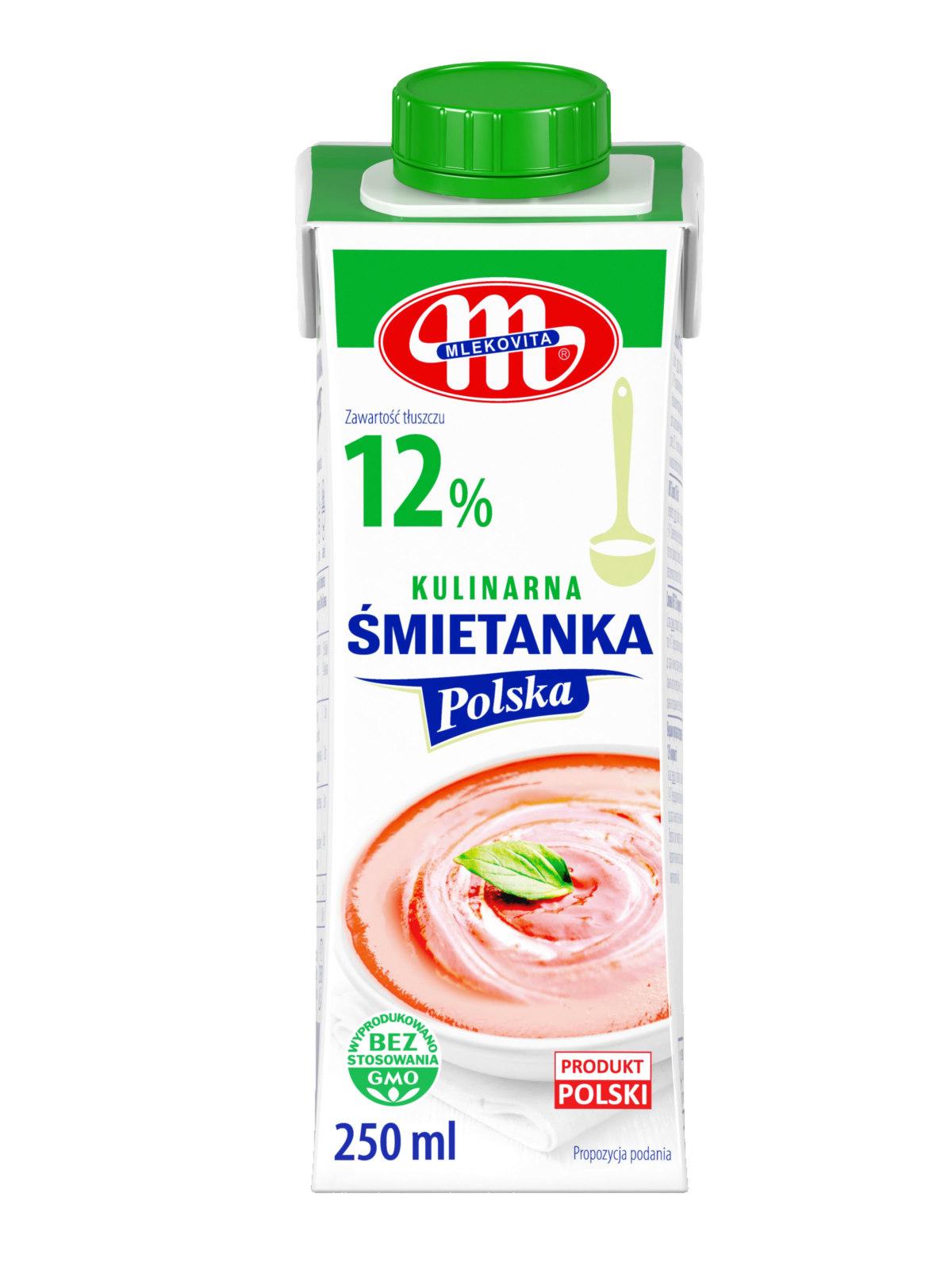 Śmietanki Polskie MLEKOVITA Już W Sprzedaży