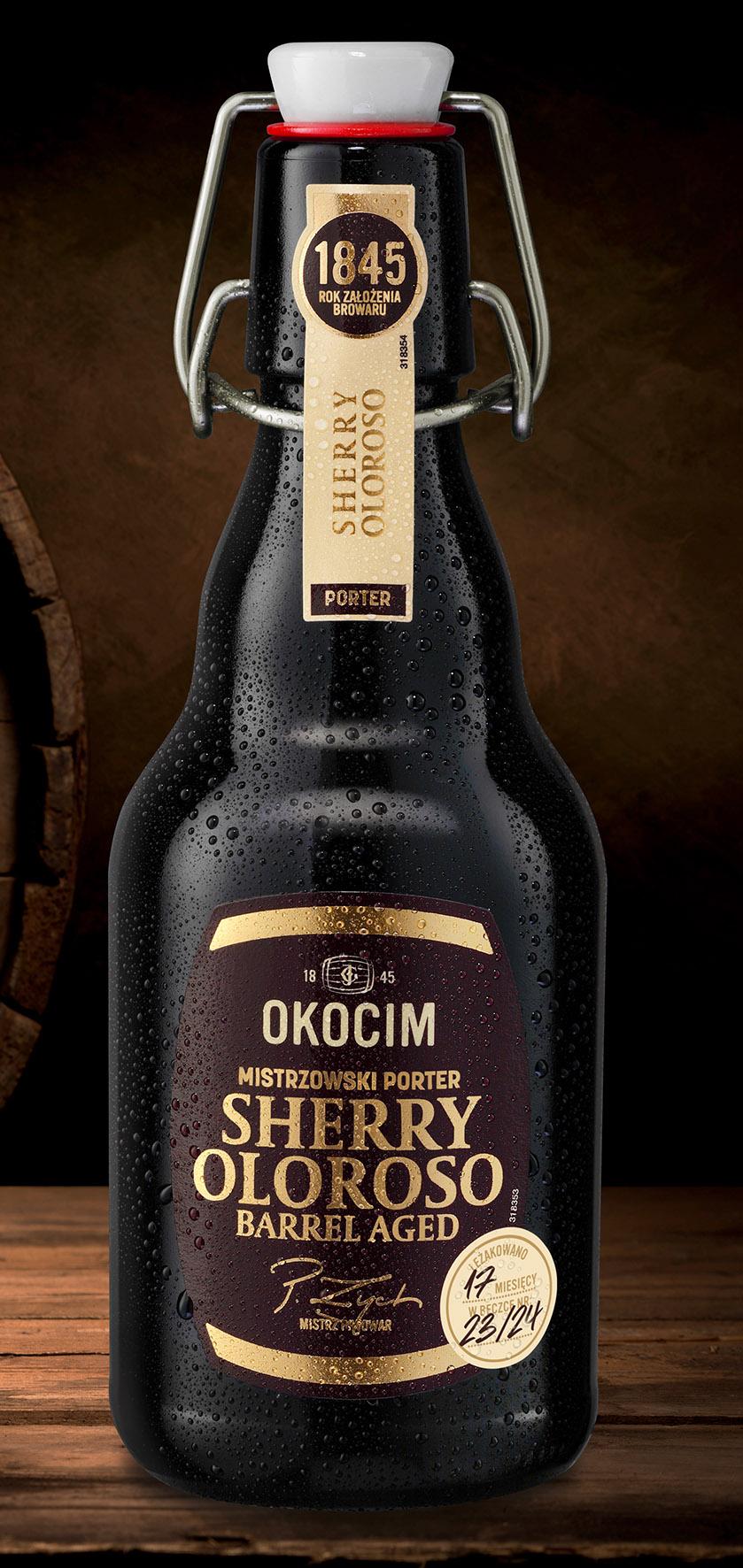 Mistrzowski Porter Sherry Oloroso Barrel Aged