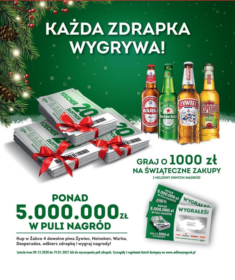 Zimowa Loteria Ze Zdrapką W Żabce