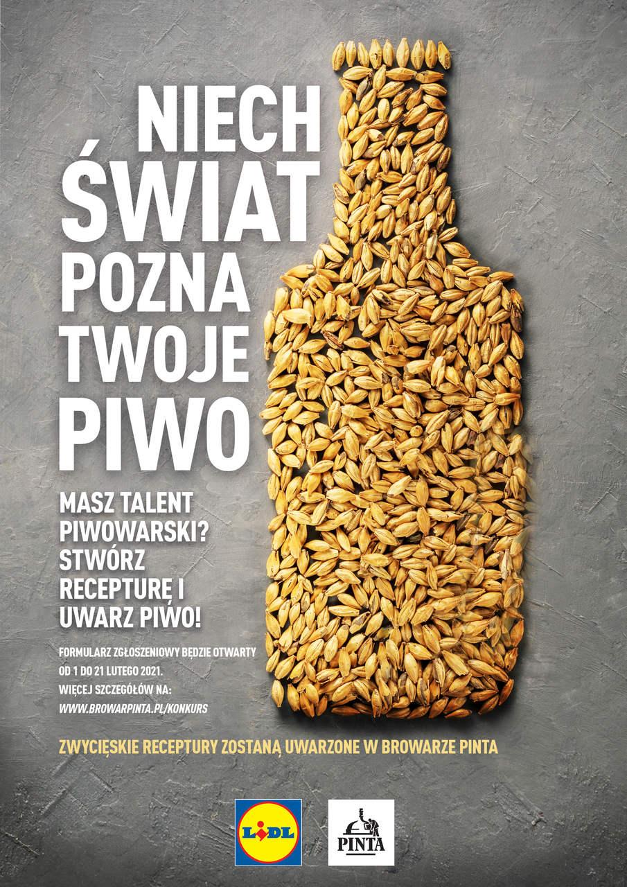 Piwo Zwycięskiej Receptury Na Majówkę W Lidlu