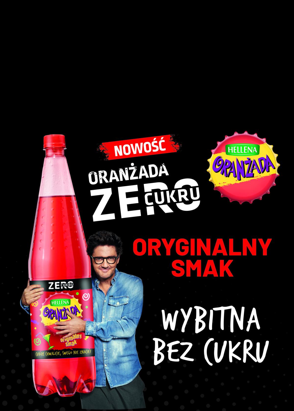 Nowa Kampania Promocyjna Oranżady Hellena Zero Cukru