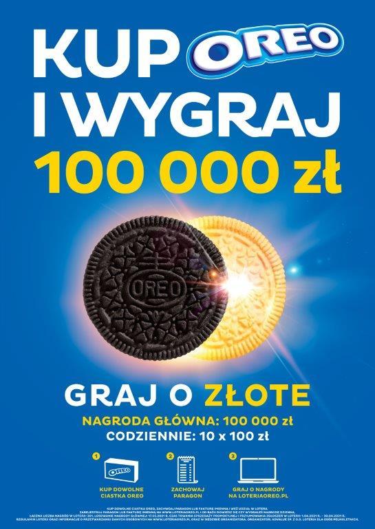 Ciastka Oreo Golden Debiutują W Polskich Sklepach