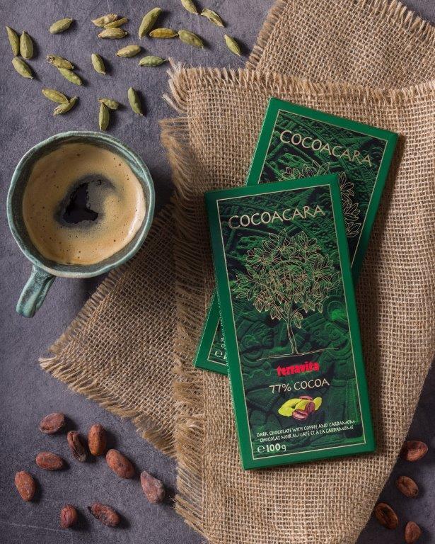 Dla Koneserów Intrygujących Smaków Kolekcja Gorzkich Czekolad Terravita Cocoacara