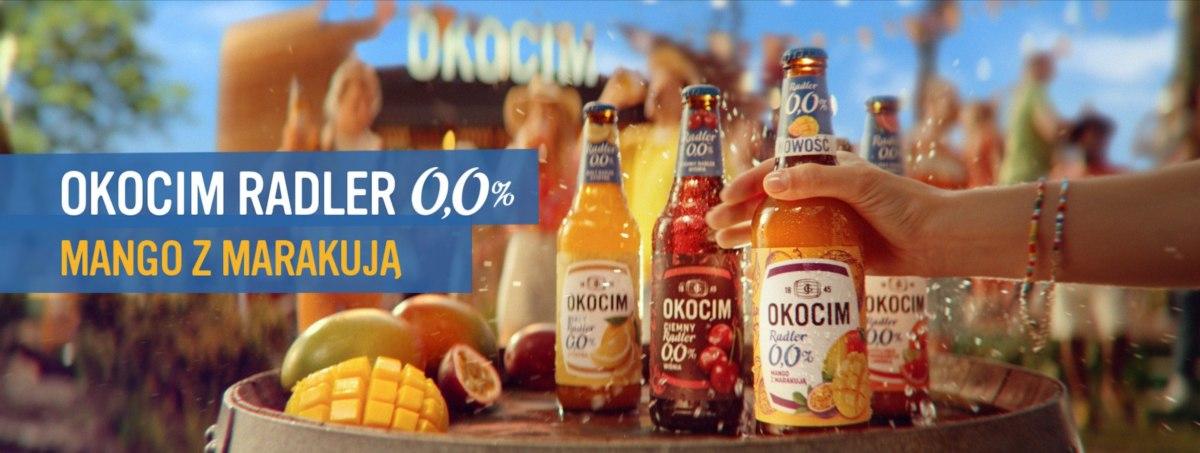 Okocim Radler Mango Z Marakują 0.0 Spot