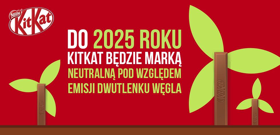 Marka KitKat Zapowiada Neutralność Emisyjną Do 2025 Roku